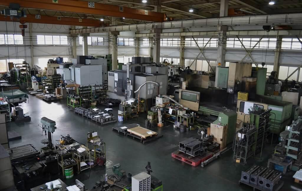 テイエヌビー工機 工場